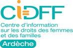 Logo CIDFF de l'Ardèche